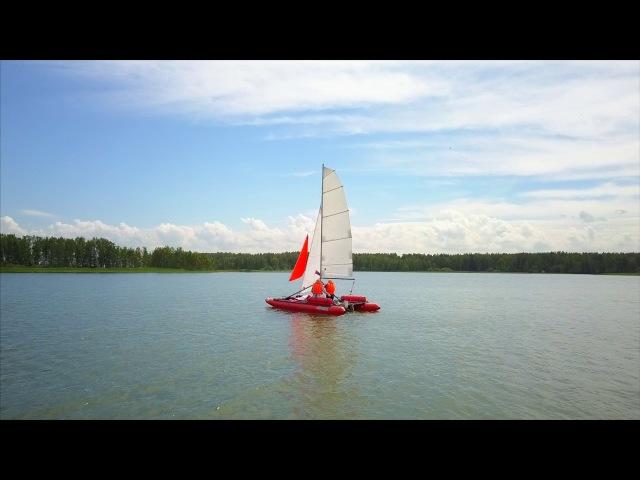Регата XXXI (4k) Обское море-2017 г.Новосибирск , гонка чемпионата России.