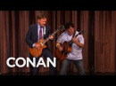 Conan And Jack Blacks Guitar Battle - CONAN on TBS