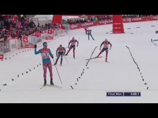 Sergey Ustiugov wins sprint [F] - Tour De Ski 2017 - Stage 1 - Val Mustair