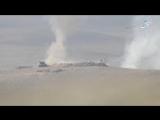 Повреждение двух БМП управляемыми ракетами в деревне Тель Кисом на юго-западе от Мосула