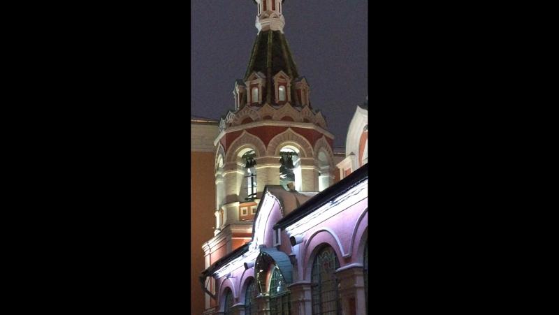 Москва. Красная площадь. Колокола
