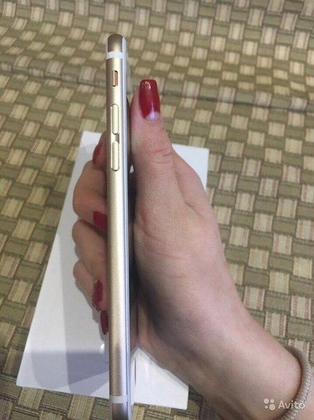 iPhone 6 Gold 16Gb, телефон в отличном состоянии, работает все без про