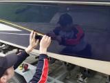 Оклейка катера виниловой пленкой. Соликамск. Мостмедиа
