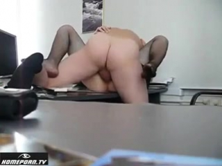 Русское секс на работе
