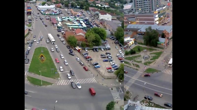 ДТП в Серпухове. Одинаковые аварии в один день, на одном и том же месте . 13 августа 2016г