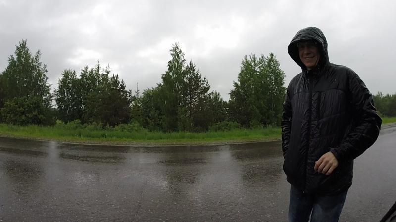 Александр Самсон перед стартом группы 80км:
