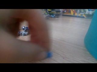 сборка робота Lego