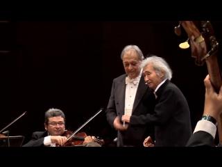 Seiji Ozawa and Zubin Mehta (Tokio)