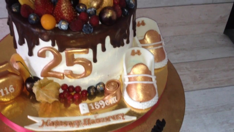Торт для мальчика 25ти лет кондитер Марина Алдохина