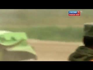 Танковый биатлон.У китайского танка отлетел каток