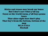 Pitbull Fireball ft John Ryan Lyrics