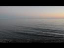 Закат в Абхазии Гечрипш ЧЕрное море