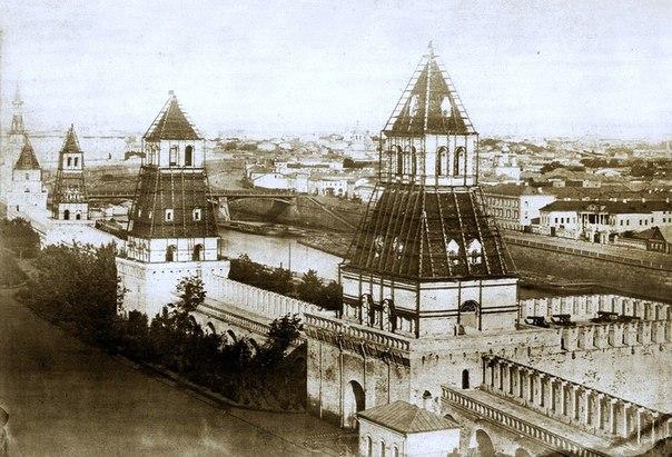 Панорама Москвы сделанная по случаю коронации Александра