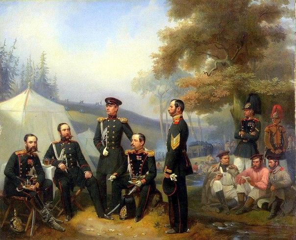 Конфигурации обращения в Русской императорской армии