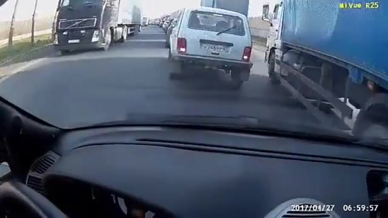 ДТП на М-5. 14 машин [Дорожный патруль]