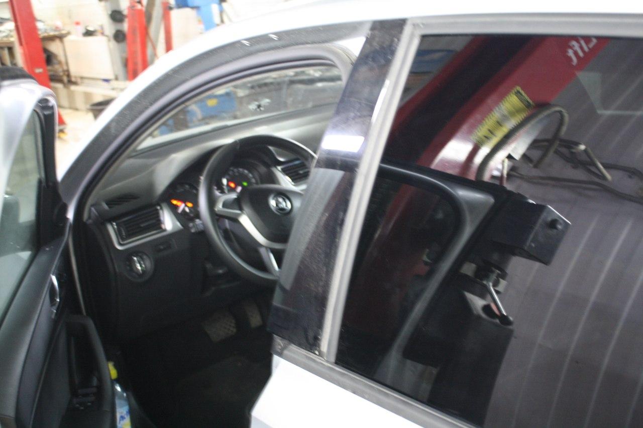 Ремонт машины Skoda