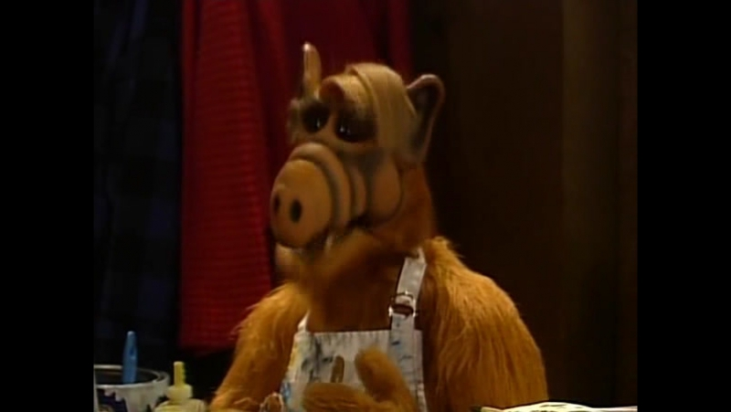 Alf Quote Season 4 Episode 16 _Альф о живописи