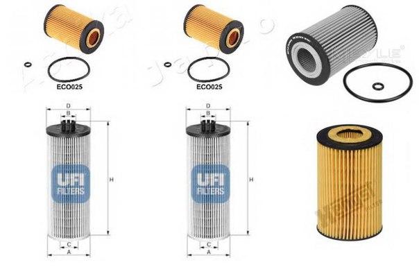 Масляный фильтр для AUDI TT купе (FV3)