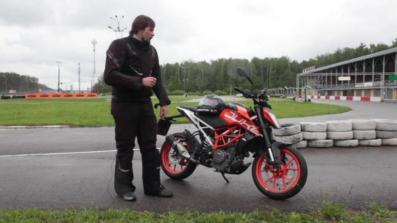 KTM Duke 390 тест драйв Омоймот 2