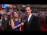 Benedict Cumberbatch on Donning the Red Cloak at Marvels Doctor Strange Red Carpet Premiere