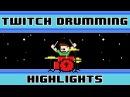One-Handed ∆MAX (deltaMAX) [Twitch Cheer Drum Challenge] -- The8BitDrummer
