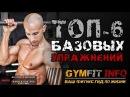 ФРЭНК МЕДРАНО 6 БАЗОВЫХ упражнений для НАЧИНАЮЩИХ с собственным весом в КАЛИСТЕНИКЕ GymFit INFO
