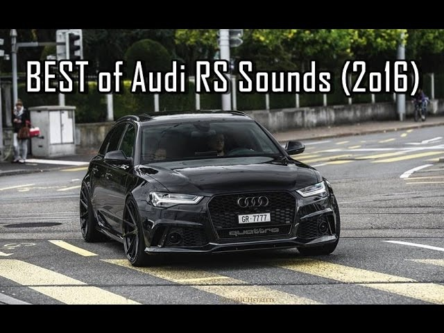 BEST of Audi Quattro Sounds (2o16) - RS3, RS4, RS5, RS6, RS7, R8 V10 V8