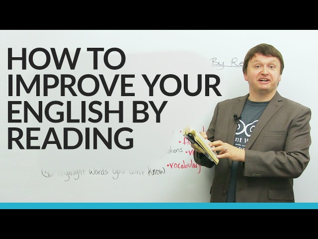 How to improve your English by reading