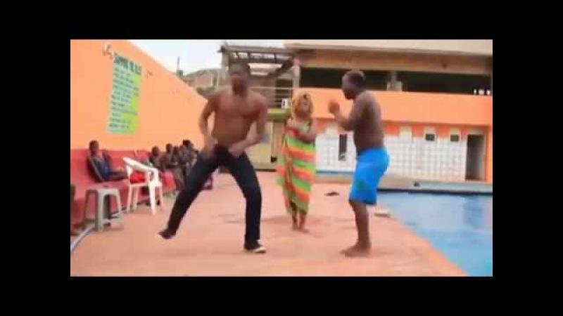 юморной танец негров funny dance of the Negroes