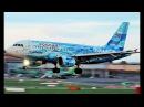 Rossiya Airbus A319 FC Zenit Livery landing Dublin airport