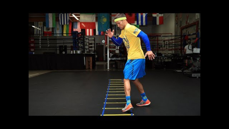 Fastest Feet In Boxing LOMACHENKO Footwork Drill | Ломаченко. Самые быстрые ноги в боксе.