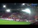 Oprawy na otwarciu stadionu Widzewa 18 03 2017 r