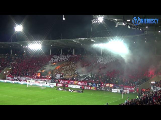 Oprawy na otwarciu stadionu Widzewa (18.03.2017 r.)