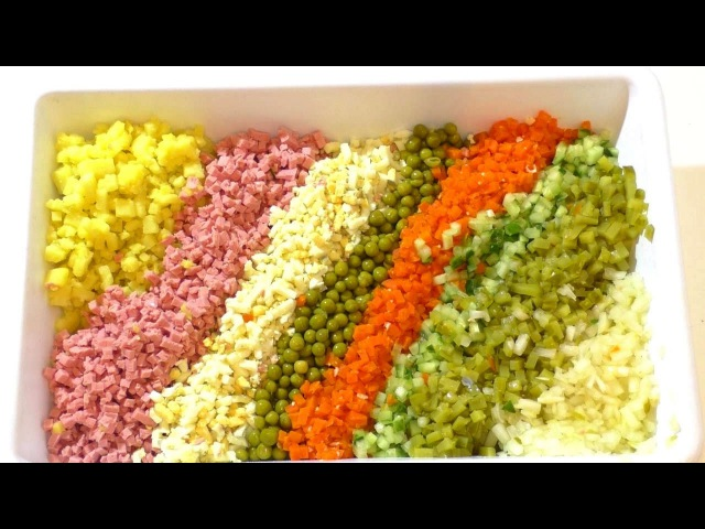 рецепт ОЛИВЬЕ . как приготовить САМЫЙ ВКУСНЫЙ ОЛИВЬЕ) salat-olivje