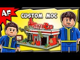 Custom Lego FALLOUT 4 Red Rocket MOC Stop Motion Build Review