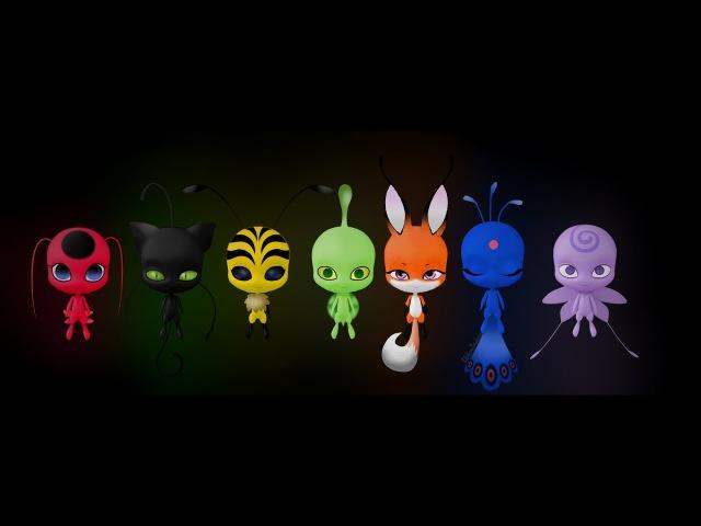 Miraculous Ladybug - Speededit: Kwami