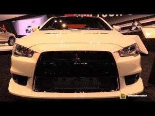 2015 Mitsubishi Lancer Evolution Final Edition - Exterior Interior Walkaround 2016 Chicago Auto Show