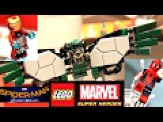 Лего Человек-паук Возвращение домой (76082 и 76083). LEGO Marvel Super Heroes Spider-Man Homecoming