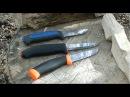 Ножи Mora о заточке и тесты