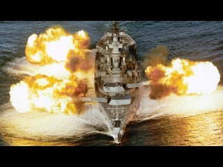 U.S. BATTLESHIP FIRING! Guns in ACTION for the FINAL TIME!