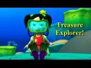 Английский язык для малышей - Мяу-Мяу - В поисках сокровищ Treasure Explorer - учим английский