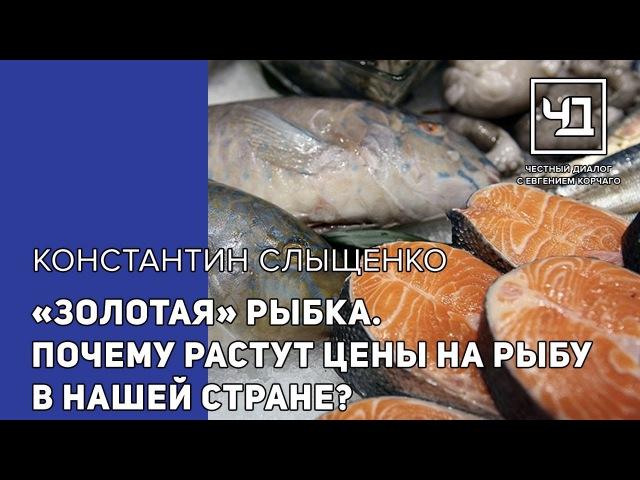 Золотая рыбка. Почему растут цены на рыбу в нашей стране?