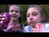 Пробуем Coca-Cola со вкусом ванили и вишни. Katya Volkova и Настя