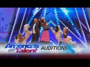 Pompeyo Family Dogs: Animal Act Entertains With Their AGT Audition - America's Got Talent 2017