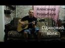 Александр Розенбаум Одинокий волк cover