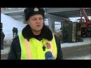 Авария на спуске к жд вокзалу Уфа