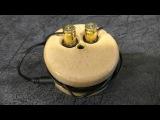 Как сделать катушку для наушников  How to make the coil for earphones