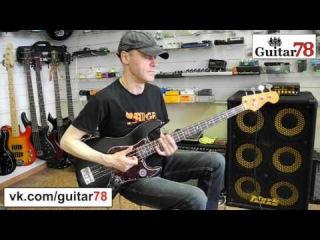 Fender AVRI 62 Jazz Bass. Абсолютный хит 2015 года - звезда ТВ.