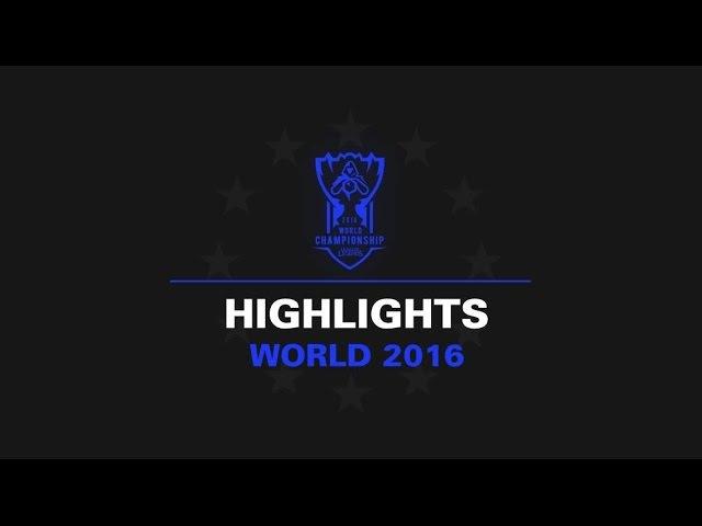 ROX vs G2 Highlights Day 3 | LOL World Championship 2016 | ROX Tigers vs G2 Esport