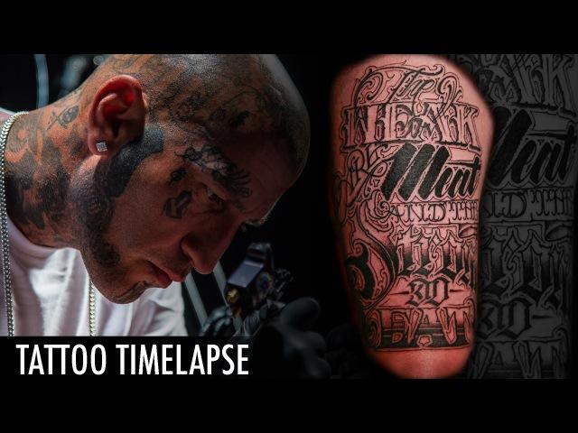 Tattoo Timelapse - Flaks